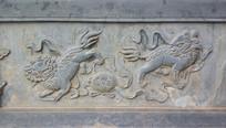 瑞兽狮子石雕艺术
