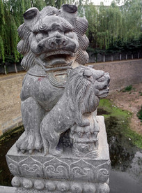 石狮子雕刻文化