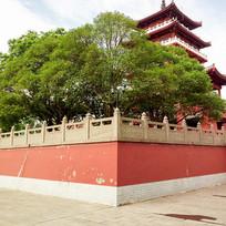 寺庙楼台古建筑