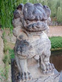 中国传统文化石狮子
