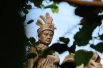 高州冼太庙冼夫人铜像摄影