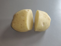 切开的土豆