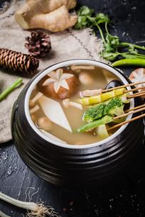 菌香味冷锅串