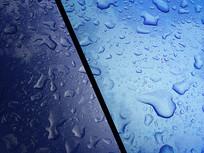 蓝色水滴画面