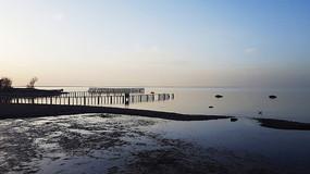 青海湖黄昏