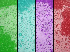 水滴色彩图