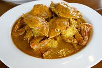 泰式 咖喱蟹