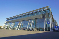 德国汉诺威展览中心展厅建筑群