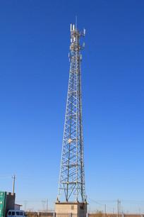 电信信号发射铁塔