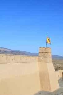 嘉峪关城墙角楼