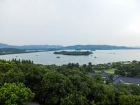 雷峰塔上看西湖