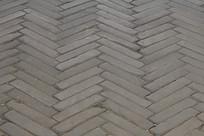 青砖折线地面