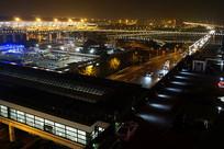 浦东机场夜景