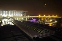 浦东机场夜景及灯光照明