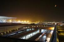 上海浦东机场建筑摄影