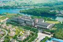俯拍桂林酒店外景