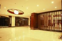 酒店大厅廊道装潢