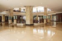 酒店圆形大堂