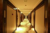 酒店走廊中式装修