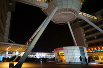 上海浦东机场的空中酒吧