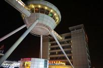 上海浦东机场及空中酒吧夜景