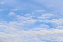 多云的天空