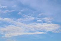一层层白云