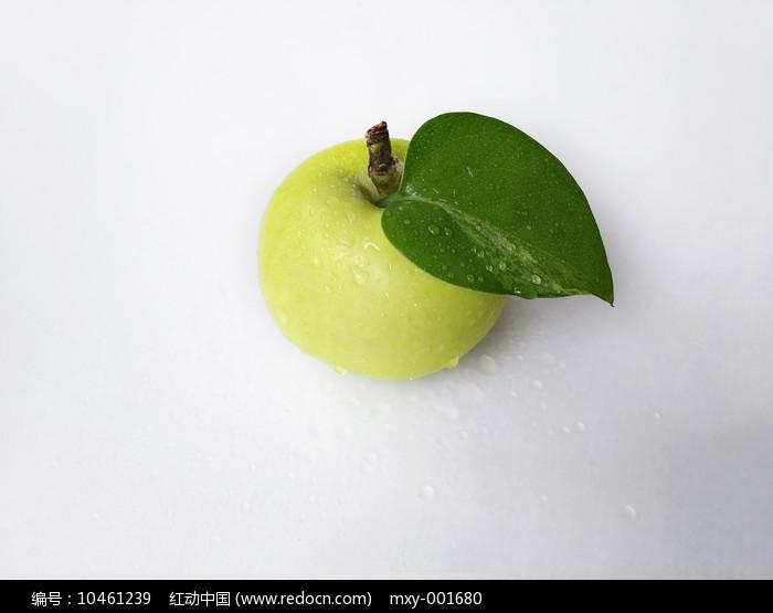 静物青苹果图片