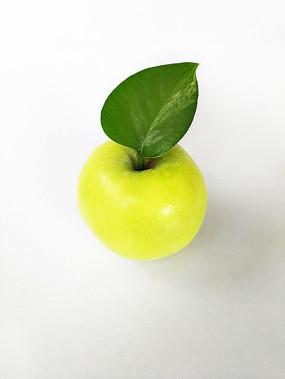 绿叶青苹果