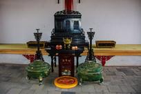 赫图阿拉城汗王寝宫祭祀神龛