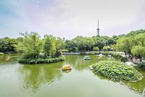 济南泉城公园风光