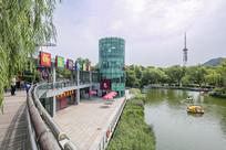 济南泉城公园景观