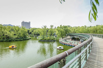 济南泉城公园景色
