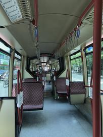 单轨电车车厢全景
