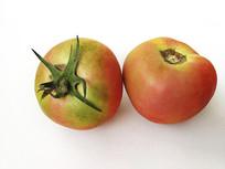 青红番茄静物