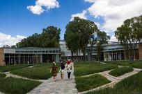 北京世园会生活体验馆景观