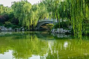 济南大明湖濯锦桥