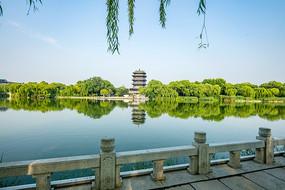 济南明湖风景