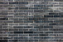 青灰色砖墙