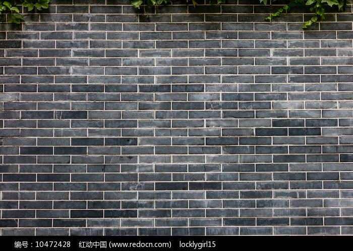 青砖建筑外墙图片