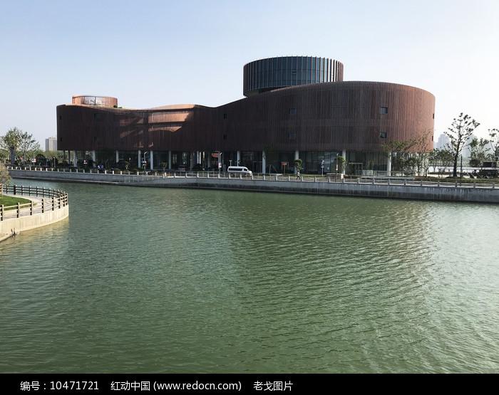 上海奉贤博物馆新馆外立面图片