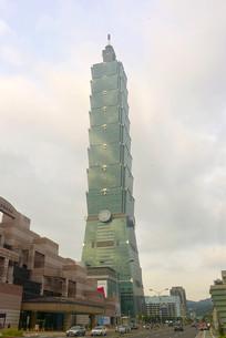 台北101大楼及台北城市风景