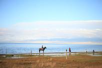 青海湖自然风光