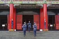 台湾忠烈祠仪队交接仪式