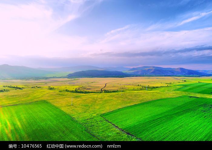 呼伦贝尔田野风光图片