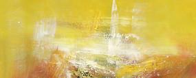 酒店抽象油画