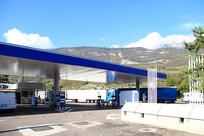 欧洲高速公路加油站