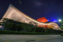 深圳博物馆夜景
