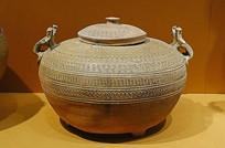 西汉釉陶瓿