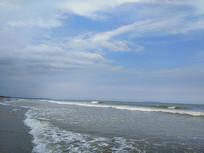 远景海滩风景